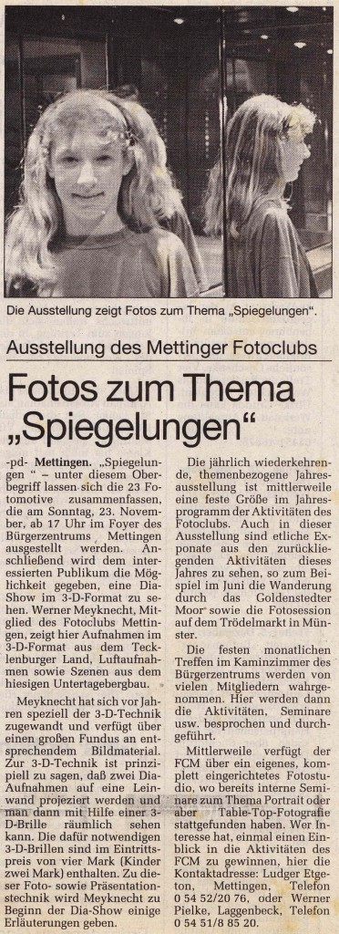 1997_Spiegelungen_Presse_97_11_27