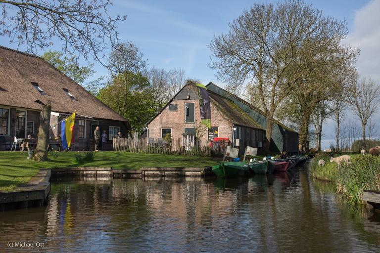 Frühaufsteher nach Giethoorn/NL