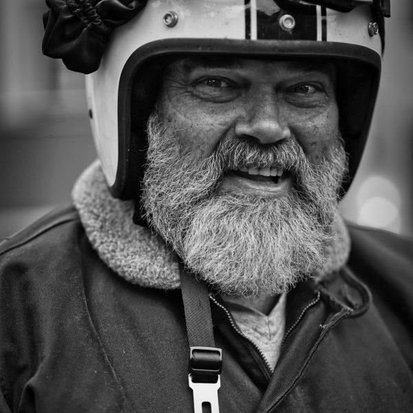Porträts auf der Motorrad-Rallye (Horst T.)  2019