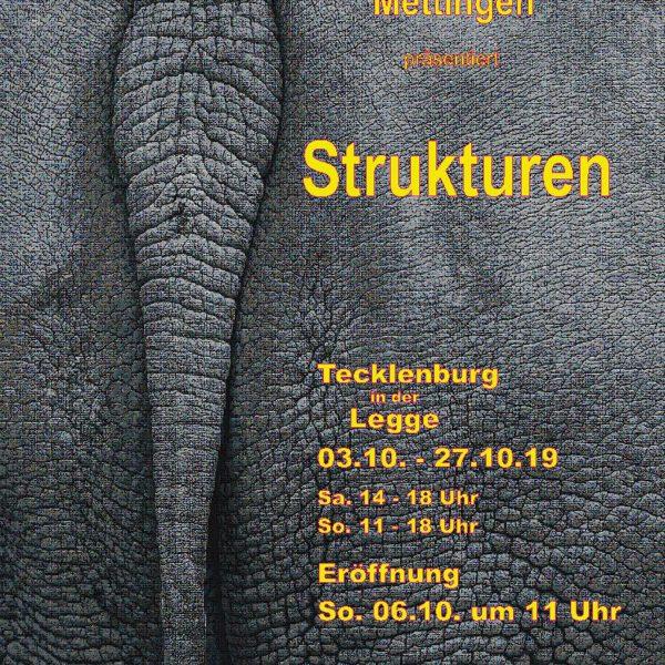 """Jahresausstellung 2019 - """"Strukturen"""""""