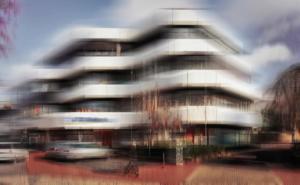 Bank Gebäude modern Ibbenbüren