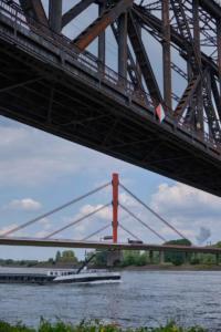 Beeckerwerther Brücke bei Duisburg-Bearl