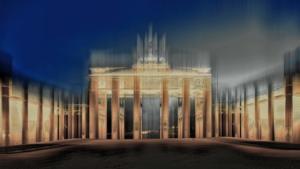 Brandenburger Tor Berlin abstrakt