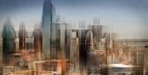 Hochhäuser Dallas Texas USA Gebäude abstrakt